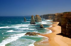 12 Apostles. Great Ocean Road, Australia. The drive is amazing with lots of stops to take in a long the way.