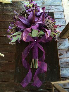 Bosachtige paarse Tiger Lily Hand-gebonden door blumarieboutique