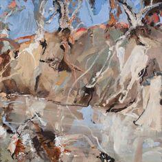Australian Painters, Australian Art, Abstract Landscape, Landscape Paintings, Landscapes, Watercolor Sunflower, Monet, Mixed Media Art, Gallery
