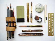 pens and pencils - Leigh Reyes