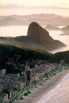 ~copacabana beach, brazil~  - #aiowedding - http://www.aiowedding.com/destination-weddings/top-5-honeymoon-destinations-in-malaysia