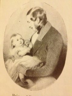 1841 Prince Albert and his eldest child, Victoria, known as Vickie, The Princess Royal, by Edwin Landseer. Her father adored her. Queen Victoria Family, Queen Victoria Prince Albert, Victoria Reign, Crown Princess Victoria, Victoria And Albert, Victoria's Children, Princesa Victoria, Royal Queen, English Royalty