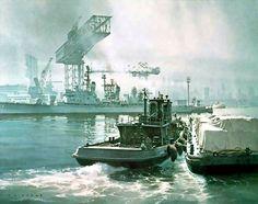 Brooklyn Navy Yard - by Carl G Evers