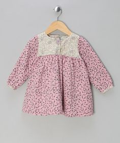 Take a look at this Lilas Rose Dress - Infant, Toddler & Girls by MINI A TURE on #zulily today!