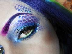 Mermaid Makeup!! Perfect For Halloween!