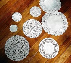 Affordable Decorating: Doilies