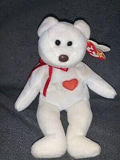 Valentino the Bear TY Valentino Bear Beanie Baby *RARE ERRORS!!*Vintage 1994  | eBay