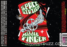 mybeerbuzz.com - Bringing Good Beers & Good People Together...: 3 Floyds - Space Station Middle Finger 22oz Bottle...
