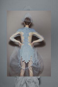 Alina Brane's Katarsis Collection Fashion Images, Fashion Art, Fashion Show, Fashion Design, Couture Fashion, Couture Details, Fashion Details, Merian, Bachelor Of Fine Arts