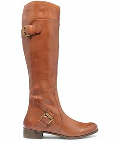 Nine West Boots, Sookie Wide Calf Riding Boots - Boots - Shoes - Macy's