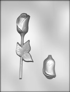 CK Products 6-1/2-Inch 3-D Rose with Leaf Sucker Chocolate Mold > Startling big discounts available here : Baking essentials