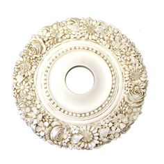 Lighting - Ceiling Medallions & Switch Plates - Flower Medley Ceiling Medallion - Cottage Haven Interiors