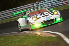Porsche 911 GT3 R, Manthey Racing: Jörg Bergmeister, Michael Christensen, Richard Lietz, Frederic Makowiecki (Foto: Porsche)
