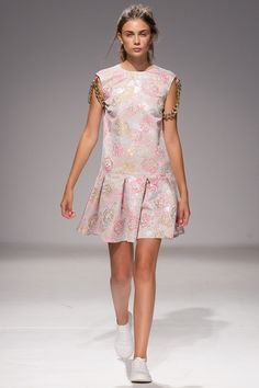 Anna K Kiev Spring 2016 collection.