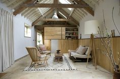 Retrouvius Reclamation and Design /Barn Refurbishment in Buckinghamshire