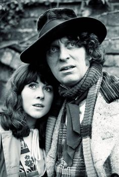 The Doctor and Sarah Jane.