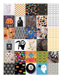 Free Printable - Spooky Stickers for the Horizontal Erin Condren Life Planner @ ShesBernadette.net