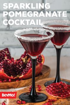 Made with prosecco, pomegranate juice, grenadine, and lime juice, this Sparkling Pomegranate Cocktail is one recipe you're sure to be making for your holiday party. Bright and fresh is a wonderful way to describe this delicious drink from BevMo!