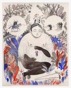 Karina Cocq Muñoz (1984) Artista Ilustradora . Vive y trabaja en Santiago de Chile. Es licenciada en Artes de la Universidad de Chile y acaba de culminar una especialización en Ilustración para Publicaciones Infantiles y Juveniles en EINA, Centre Universitari de Disseny i Art de Barcelona.