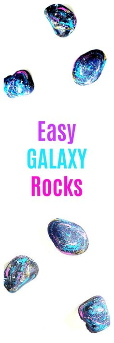 Make these easy galaxy rocks to spread kindness or just for fun. These are a great project for a girls craft night, to make with kids, or just for fun! Galaxy Crafts, Diy Galaxy, Galaxy Art, Galaxy Room, Marble Painting, Galaxy Painting, Stone Painting, Rock Painting, Girls Night Crafts