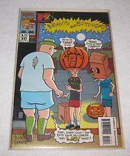 MTV's Beavis and Butthead #10 (Dec 1994, Marvel Comics)