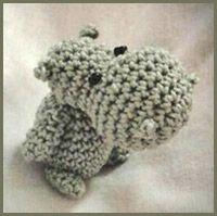 FreE-Book Mini Nilpferd Hippo | kostenlose Häkelanleitung