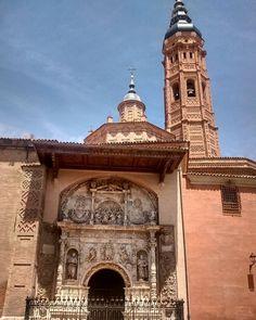 En #Instagram: Colegiata de Santa María de Calatayud #España #viaje #trip http://ift.tt/29X1q7x