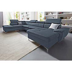 Exxpo   Sofa Fashion Wohnlandschaft, Wahlweise Mit Bettfunktion