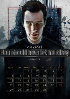 Geek Calendar 2014: January by SceithAilm