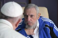 .@Crux @ inesanma: Pope Francis expresses 'sorrow' over Castro's death