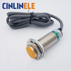 M24 LJ24A3-8-Z/DX 8mm sensing DC Two wire NC prism shape inductive Screen shield type proximity switch LJ24A3 proximity sensor #Affiliate