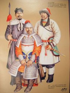 Ancient Chinese Army Uniforms - Liao Dynasty (907 to 1125)