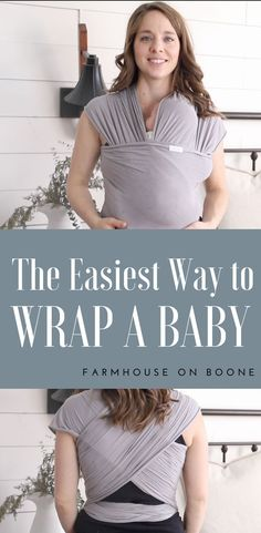 How to tie a moby wrap video tutorial how to wrap a newborn solly wrap How To Moby Wrap, Boba Wrap Newborn, Baby Wearing Wrap, Mom Survival Kit, Baby Life Hacks, Baby Gadgets, Mommy Style, Baby Wraps, Newborn Care
