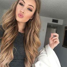 10 soft caramel hair looks very girlish - Styleoholic