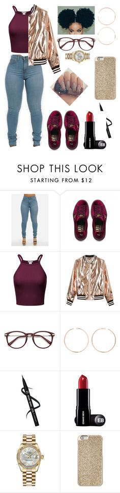 """Don't take it Personal 💋"" by neathedesigner1 on Polyvore featuring Puma, Sans Souci, Anita Ko, Rolex and Michael Kors"