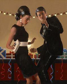 Let's Twist Again, by Jack Vettriano