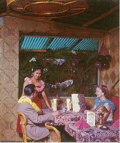 vintage tiki restaurant