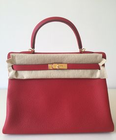 hermes rouge casaque leather birkin 35cm gold hardware