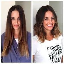 Bildresultat för before and after long lob
