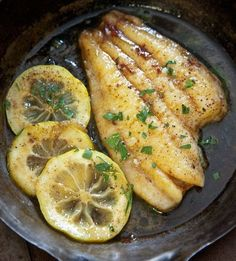 Sole with Lemon and Chive Sauce | 1mrecipes
