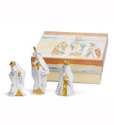 LLADRO - SET THREE WISE MEN (RE-DECO)