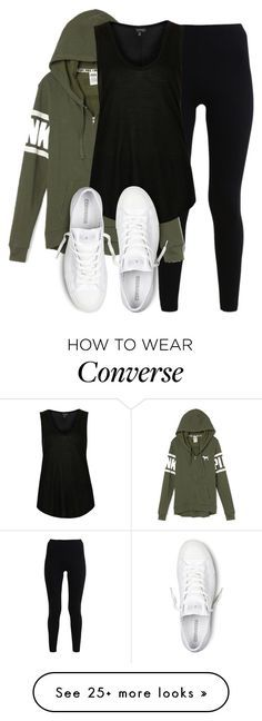 """""""perrie insp"""" by littlemixmakeup on Polyvore featuring American Apparel, Victoria's Secret, Topshop and Converse"""