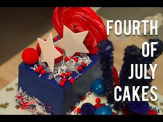 youtube 4th of july cake