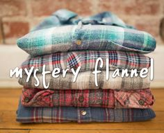 HoBo -OverSized Mystery Hipster Flannels-All Sizes & Colors