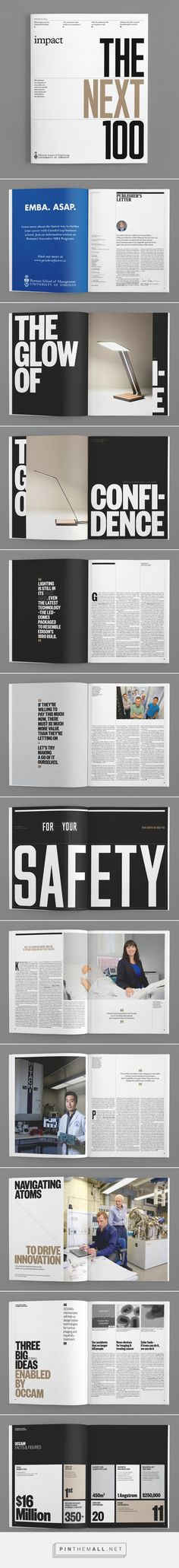 Impact Magazine, Issue 3: The Next 100 on Behance... - a grouped images picture - Pin Them All