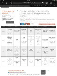 les mills combat schedule pdf