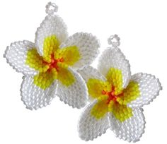The flower of El Salvador, as well as, a Hawaiian favorite!  #Beading #craft #imagination by vino0002