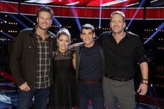 Team Blake finalists The Voice 2015