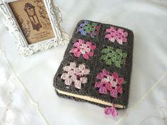 crochet book cover Inspiracion ༺✿ƬⱤღ✿༻