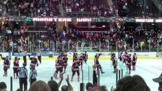 Lake Erie Monsters found victory of a 5-0 game last night against Rochester! Great job @- Lake Erie Monsters  #MyAwesomeMonsterBoard
